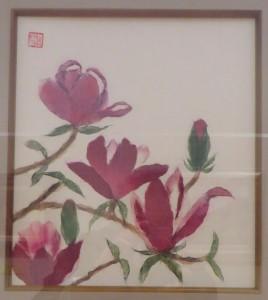 展示会(26日) 045(あすなろちぎり絵)深沢昇子