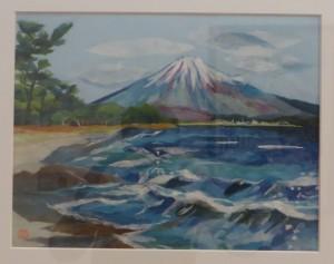展示会(26日) 032(和紙ちぎり絵)藤本真樹