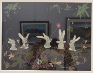1701展示会(26日) 067日向押し花教室(小林ひとみ)